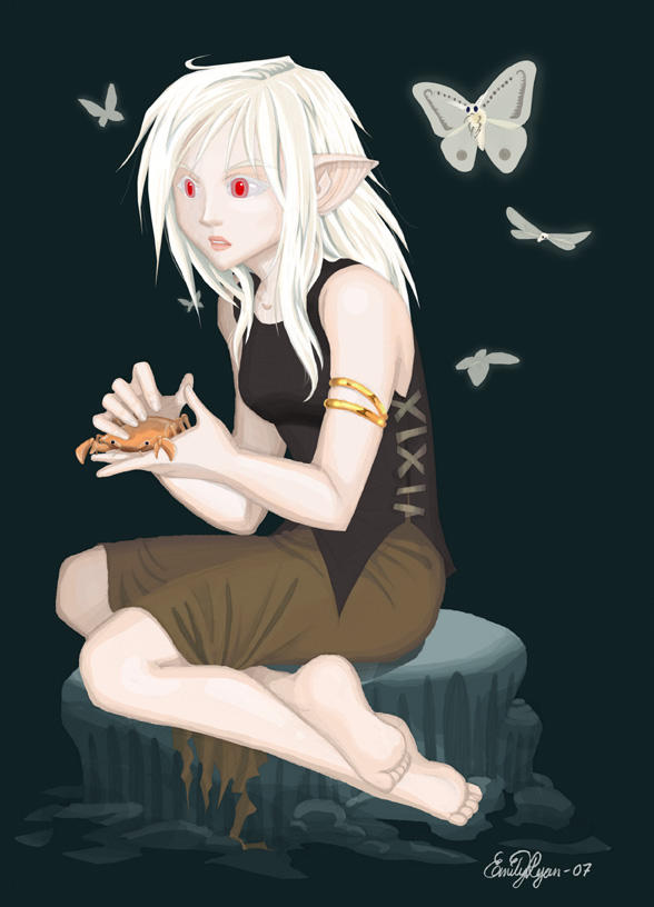 What Drow ought to look like by Aeonna