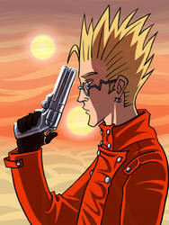 Vash the Stampede by Aeonna