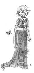 Elf lady by Aeonna