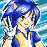 Sonic Human Proyect: Sonic by nelli-sama