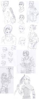 Sketchdump 5 by Shamusu