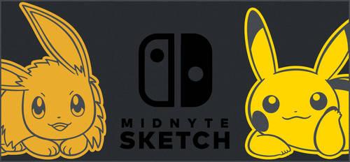 Pika Eevee Switch Design by MidnyteSketch
