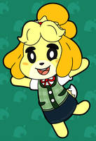 Best Assistant Isabelle by MidnyteSketch