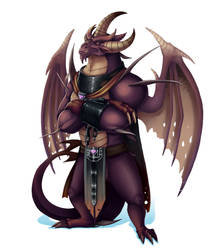 Fanart - Reignited Malefor by GroxikavonDarkside