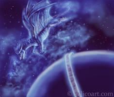Cintiq Dragon by kalicothekat