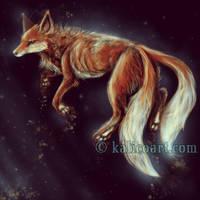 Kitsune by kalicothekat