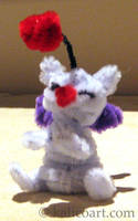 Moogle Pipe Cleaners by kalicothekat