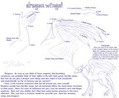 Dragon Wing Tutorial by kalicothekat