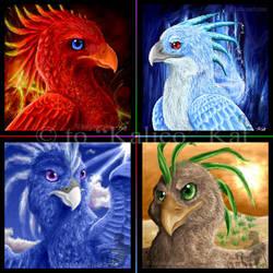 Phoenix of the Elements by kalicothekat