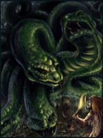 Lernaean Hydra by kalicothekat