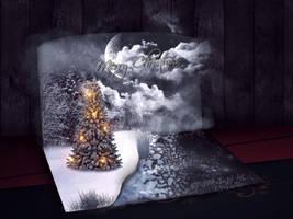 Merry Christmas by SPRSPRsDigitalArt