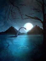Lake of secrets by SPRSPRsDigitalArt