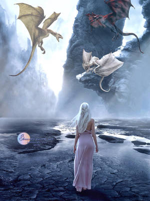 Mother of Dragons by SPRSPRsDigitalArt
