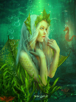 Just love Mermaids by SPRSPRsDigitalArt