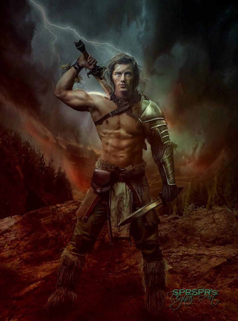 Warrior by SPRSPRsDigitalArt
