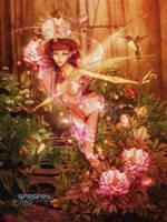 Sweet little fairy by SPRSPRsDigitalArt