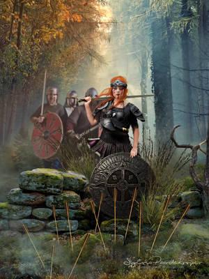Viking invasion by SPRSPRsDigitalArt