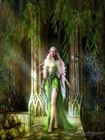 Mirkwood elf by SPRSPRsDigitalArt