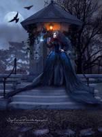 Magical crows by SPRSPRsDigitalArt