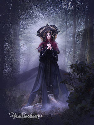 Like a Holy Madonna by SPRSPRsDigitalArt