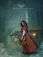 Red riding Hood by SPRSPRsDigitalArt