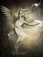 A guardian angel by SPRSPRsDigitalArt