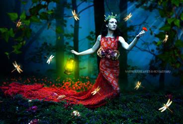 The Scarlet Maiden by winterinheaven