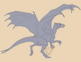 Pernese Raptor by AshasCadence