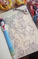 Sailor moon - Usagi by Smeoow