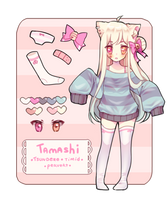 (Commission) Tamashi ref. by Smeoow