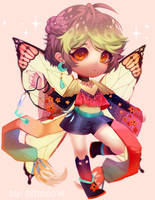 (Commission) Magical fairy by Smeoow