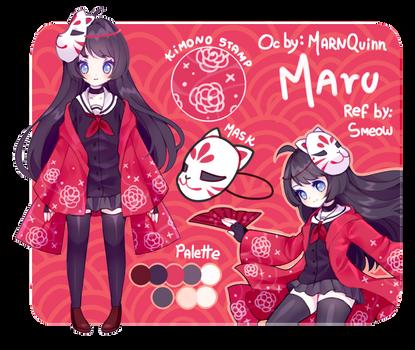 (Commission) info Maru chan by Smeoow