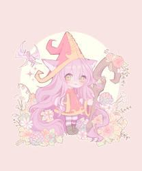 Lulu in the flower forest by Smeoow