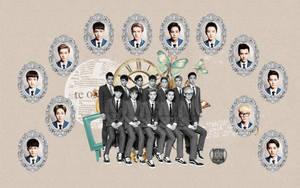 EXO : XOXO Comeback (Kiss and Hug) Wallpaper by KpopGurl