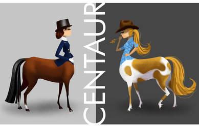 Centaur by HeatherIhn