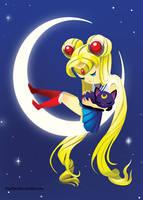 Sailor Moon by HeatherIhn