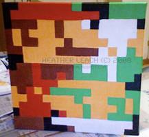 Super Mario Bros. Mario+Luigi by 8bitgallery