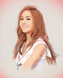 SNSD Jessica by x0imaginazn0x