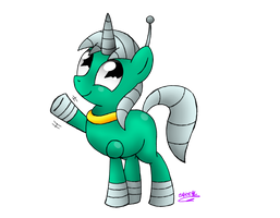 Robot pony by Spice5400