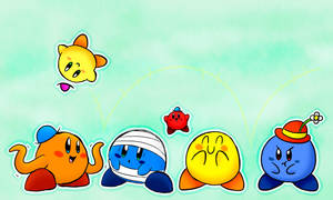Mr Men Kirbys by Spice5400