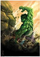 Hulk Colored by Keatopia