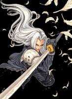 Final Fantasy - Sephiroth by Keatopia