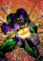 THE GREEN GOBLIN by KYLE-CHANEY
