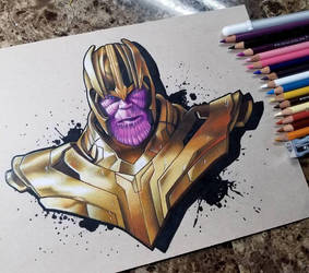 Another Thanos by KYLE-CHANEY