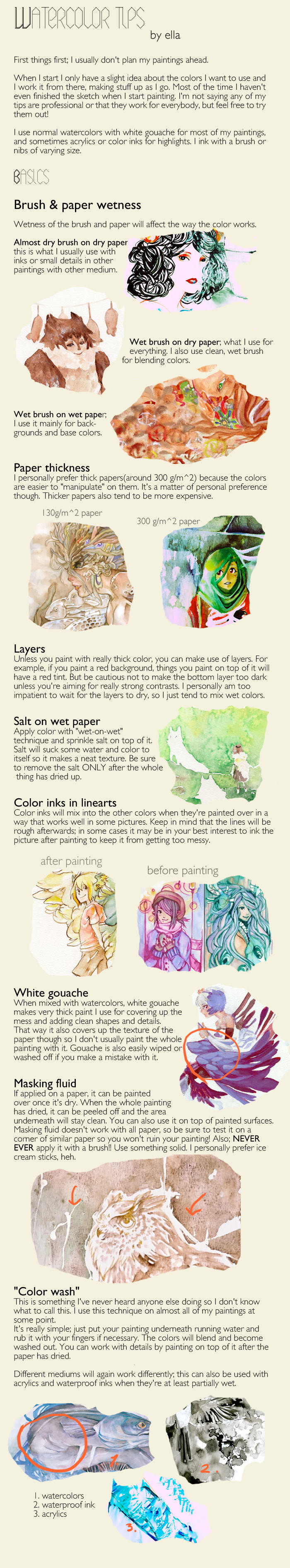 Watercoloring tips by dodostad