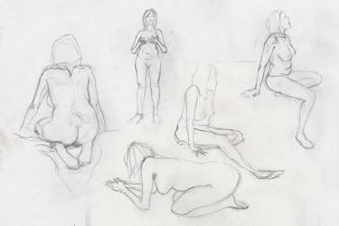 Life Drawing #2 by equilerex