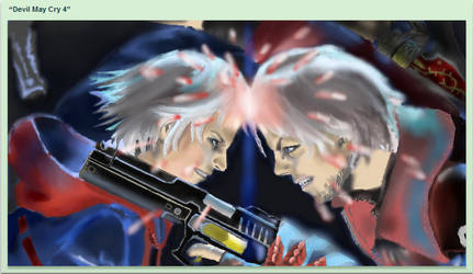Devil May cry 4 by Johnsonist