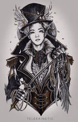 suho as the ringleader by IBER1S