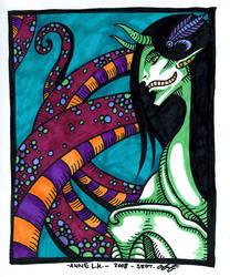 Crested Naga by annekaretnikov