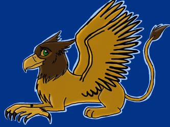 Lion king styled griffon by barnowlgurl23